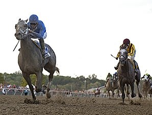 Frosted wins the 2015 Pennsylvania Derby.