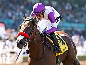 Nyquist wins the 2015 FrontRunner.