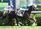 Azar wins the With Anticipation Stakes at Saratoga Aug. 2.