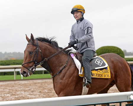 Caption: Keen Ice
