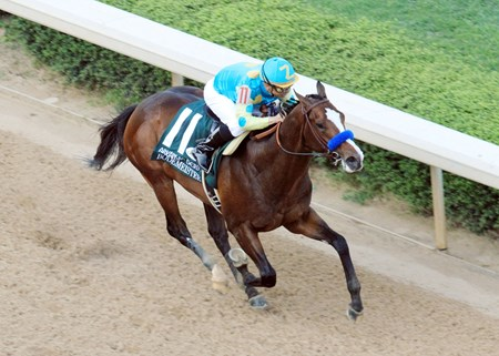 BODEMEISTERThe Arkansas Derby - Grade I - 76th RunningHot Springs, Arkansas4/14/2012Purse $1,000,0001-1/8 Miles  1:48.3Zayat Stables, LLC, OwnerBob Baffert, TrainerMike Smith, JockeySecret Circle (2nd)Sabercat (3rd)$6.80  $4.60  $3.60  Please Give Photo Credit To:      Coady Photography /  Will Kenser (Aerial)Coady Photography / Jeff Coady (Finish)Coady Photography / Corey Zamora (Inside Tight Coady Photography / Sunny Taylor (Inside)