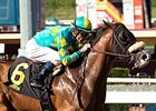 No Silent won the Eddie D Stakes on October 3.