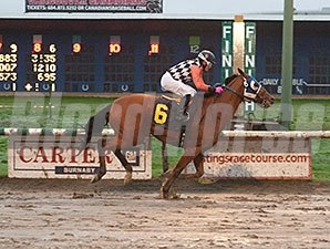 Killin Me Smalls wins the 2015 BC Premier's Handicap.