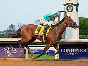 American Pharoah wins the Breeders' Cup Classic.