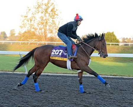 Caption: Peace and War