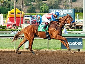 Dortmund wins the 2015 Big Bear Stakes.