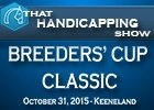 That Handicapping Show: The Breeders' Cup Classic