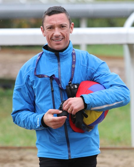 Frankie Dettori at Keeneland for Breeders' Cup week on October 27, 2015. Photo By: Chad B. Harmon