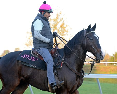 Caption: Lava Man