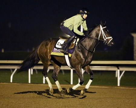 Stopchargingmaria (INSIDE) - Catron (OUTSIDE) - Morning Workout - Keeneland Race Course - 102415