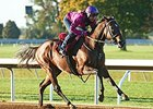 Yahilwa worked five furlongs in :58 2/5 Oct. 15 at Keeneland.