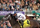 "Breeders' Cup reported a record Friday crowd for the first day of its World Championships Oct. 30.<br><a target=""blank"" href=""http://photos.bloodhorse.com/BreedersCup/2015-Breeders-Cup/Longines-Breeders-Cup-Distaff/i-BHgZFHx"">Order This Photo</a>"