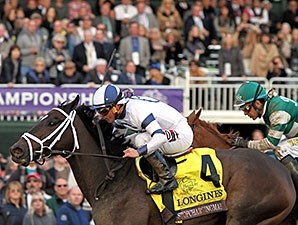 Breeders' Cup reported a record Friday crowd for the first day of its World Championships Oct. 30.