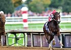 "Songbird runs away from the competition in the Breeders' Cup Juvenile Fillies. <br><a target=""blank"" href=""http://photos.bloodhorse.com/BreedersCup/2015-Breeders-Cup/14-Hands-Winery-Breeders-Cup-J/i-mhH98NV/A"">Order This Photo</a>"