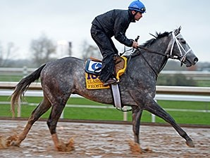 Frosted at Keeneland Oct. 28.