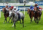 Solow comes home strong to win the QIPCO Queen Elizabeth II Stakes.