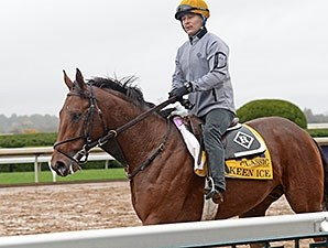 Keen Ice at Keeneland Oct. 28.