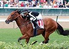Saham won the Jefferson Cup at Churchill Downs on Sept. 26.