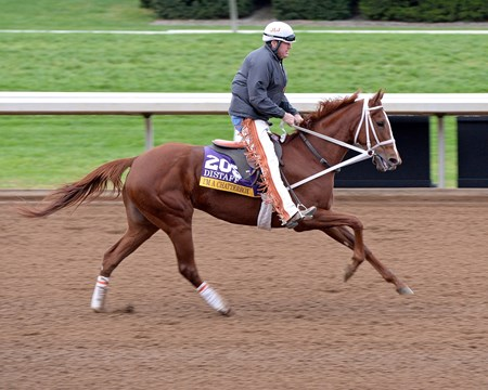 Caption: I'm a Chatterbox with Larry Jones up. 