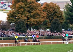 2015 Breeders' Cup Classic Race Sequence