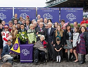 Stephanie's Kitten after the Breeders' Cup Filly and Mare Turf.