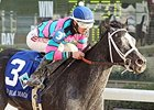 Jet Black Magic won the Delta Downs Princess on November 21.