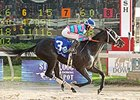 Jet Black Magic Upsets Delta Princess