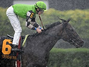 Lochte and Matthew Rispoli take the Tropical Turf Handicap in the rain.