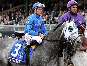 Frosted at the Breeders' Cup.