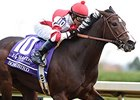 "Breeders' Cup Juvenile Fillies winner Songbird<br><a target=""blank"" href=""http://photos.bloodhorse.com/BreedersCup/2015-Breeders-Cup/14-Hands-Winery-Breeders-Cup-J/i-kwhcPDX"">Order This Photo</a>"