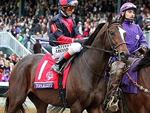 Tonalist in the Breeders' Cup Classic.