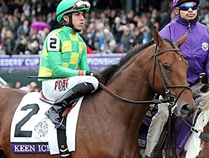Keen Ice at Breeders' Cup.