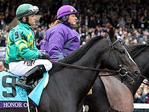 Honor Code at the Breeders' Cup.