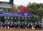 Final Breeders' Cup Handle Figures Down 2.4%