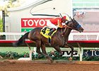 Toews On Ice is the likely favorite in the Los Alamitos Futurity