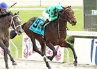 Exaggerator wins Delta Downs Jackpot in 2015