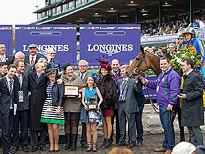 Found wins the 2015 Breeders' Cup Turf.