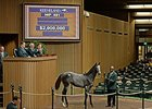 Hip 491, a War Front filly, brought $2 million to close out the second Keeneland November breeding stock sale session.