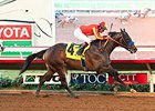 Toews On Ice comes home strong to win the Bob Hope Stakes.