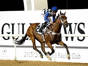 My Catch wins the 2015 Gulf News Handicap.