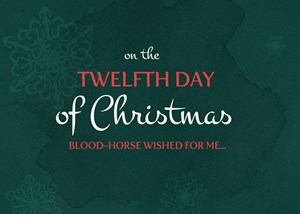 On the twelfth day of Christmas Blood-Horse wished for me...