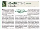 Health Zone: December 5, 2015 - Nutrition