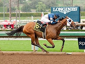 Sunday Rules wins the 2016 Donald Valpredo California Cup Sprint Stakes.