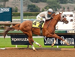 California Chrome is too strong for a good field in the San Pasqual Stakes