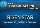 That Handicapping Show: The Risen Star