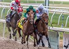 "Majestic Harbor fights off Eagle to win the Mineshaft Handicap.<br><a target=""blank"" href=""http://photos.bloodhorse.com/AtTheRaces-1/At-the-Races-2016/i-94xBwmF"">Order This Photo</a>"