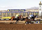 Racing at Sunland Park in New Mexico
