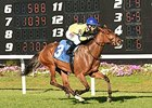 Enjoy Yourself won an optional claiming/allowance race at Tampa Bay Downs on Feb. 17.