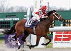 Hard Spun winning the 2007 Lanes End Stakes