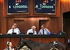Hip 245, a colt by Uncle Mo, topped the day's trading at $1.3 million.